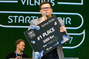 """Paskelbti """"LOGIN Startup Fair"""" konkurso nugalėtojai"""
