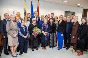 Vilniaus mokytojams – mero sveikinimai