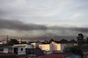 Kosta Rikoje išsiveržė Turialbos ugnikalnis