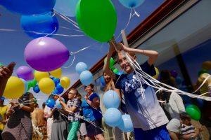 Buriasi retomis ligomis sergančių vaikų šeimos