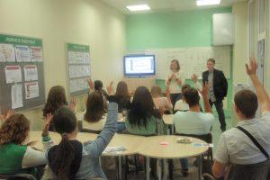 Klaipėdos jaunimo darbo centre įvyko žaismingas savanorystės seminaras