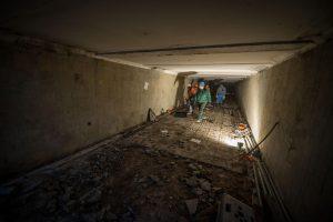 Bundančiame Kauno stoties rajone – ir sutvarkyta požeminė perėja