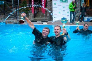 """""""Press ralis 2017"""": tramplynai trasoje ir apdovanojimai baseine"""
