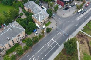 Rekonstruota Kalvarijų ir Apkasų gatvių sankryža – daug saugesnė