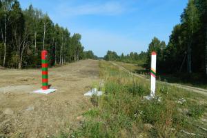Apsauginė tvora Rusijos pasienyje pradės kilti kitą savaitę