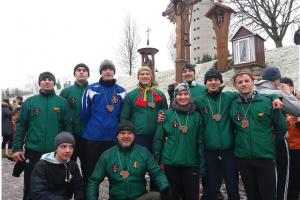 Pagarbos bėgime dalyvavo daugiau kaip 60 pasieniečių