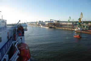 Klaipėdos uoste pakoreguoti krovos planai