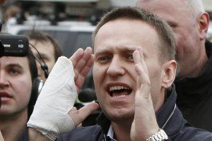 Rusijos opozicijos lyderio A.Navalno apeliacijos svarstymas paskirtas spalio 9 d.