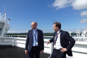 Vidaus reikalų ministras: SGD terminalo apsauga daro įspūdį