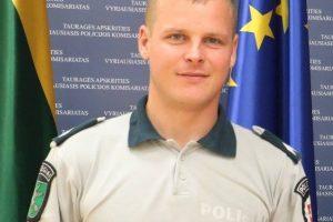 Kraupioje avarijoje žuvo policininkas