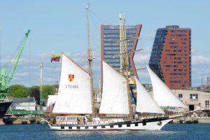 Klaipėdos universiteto laivynas plaukioja saugiai