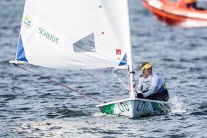 Buriuotoja G. Scheidt olimpinėse žaidynėse užėmė septintą vietą