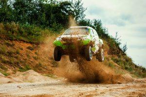 V. Žala po pirmųjų testų su naujuoju Dakaro automobiliu: žvėris