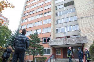 Kauno daugiabutyje sprogus televizoriui nukentėjo du žmonės