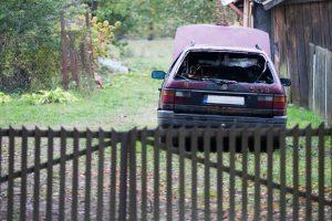 Kaune degė dar vienas automobilis