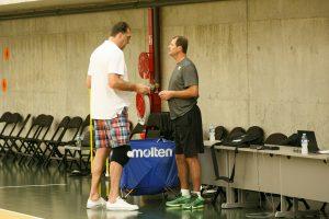 Prieš krepšinio rinktinių akistatą – austrų komplimentai