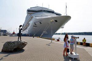 Kruiziniai laivai Klaipėdą lankys ir rudenį