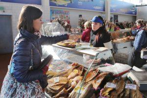 Uostamiesčio Naujajame turguje – žuvadienis