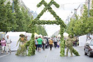 Kitą savaitgalį sostinę kvepins dešimtasis Žolynų turgus