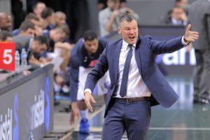 Emocingas Š. Jasikevičiaus sveikinimas po pergalės prieš CSKA