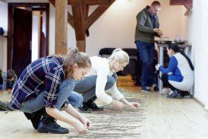 Parodų rūmuose – kūrybinių dirbtuvių rezultatų pristatymas