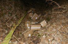 Su rūkalų kontrabanda įkliuvo ir pasienietis