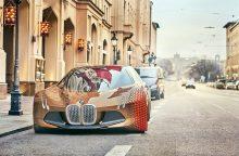 Trys BMW koncepciniai automobiliai – koncerno ateities vizija