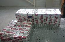 Sulaikyta kontrabandinius rūkalus į Lietuvą gabenusi rusė