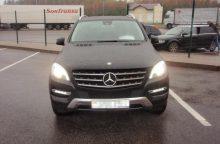 """Pasieniečiams įkliuvo Vokietijoje pavogtu """"Mercedes Benz"""" vykęs baltarusis"""