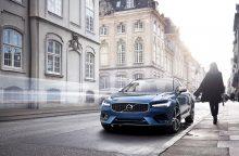 """""""Volvo"""" pristatė sportiškuosius S90 ir V90 """"R-Design"""" modelius"""