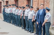 Naujovė Kaune patinka ne visiems policijos pareigūnams <span style=color:red;>(papildyta)</span>