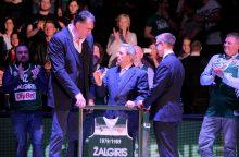 Kaunas parodė pagarbą Lietuvos krepšinio tėvui V. Garastui