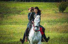 Aktorė K. Stungytė: beveik tapau gamtos vaiku