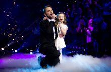 J. Sakalauskas į sceną lipo su dukra: tai – be galo jaudinantis momentas