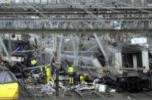 Netoli Briuselio nuo bėgių nulėkė traukinys <span style=color:red;>(1 žmogus žuvo, 27 sužeisti)</span>