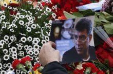Kijeve šalia Rusijos ambasados esantis skveras pavadintas B. Nemcovo vardu