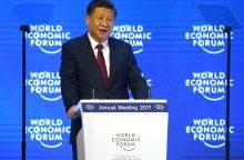 Kinijos prezidentas: dėl pasaulio problemų kaltinti globalizacijos neverta