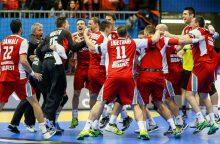Pasaulio rankinio čempionate paaiškėjo ketvirtfinalio poros