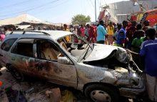 Per sprogimą Somalio sostinėje žuvo mažiausiai 30 žmonių