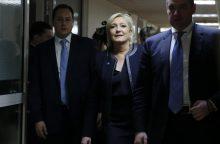 M. Le Pen Maskvoje ragina Rusiją ir Prancūziją vienytis