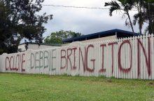 Prie Australijos artinantis ciklonui evakuota tūkstančiai žmonių