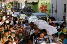 Meksikoje skelbiamas trijų dienų gedulas