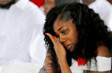 Žuvusio kario našlė: D. Trumpas mane pravirkdė