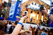 Festivalio užkulisiuose – nardymas virtualioje realybėje
