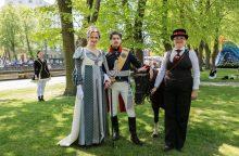Muzikos šventėje buvo galima pasilabinti ir su Prūsijos karaliumi
