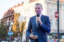 R. Šimašius paskelbs, kad vėl sieks Vilniaus mero posto