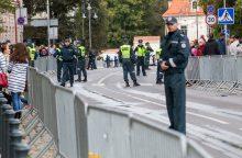 Popiežiaus vizito užkulisiai: su kokiais iššūkiais susidūrė policija?