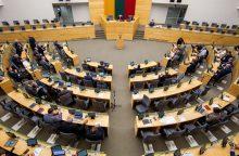 Seimas svarstys siūlymą mažinti Seimo narių skaičių iki 121