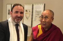 Lietuvos parlamentarai susitiko su Dalai Lama
