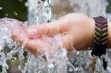Per karščius miestuose gelbsti vandenpylės